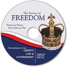 The Service of Freedom DVD artwork
