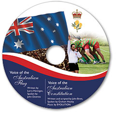 The Voice of Australia DVD artwork